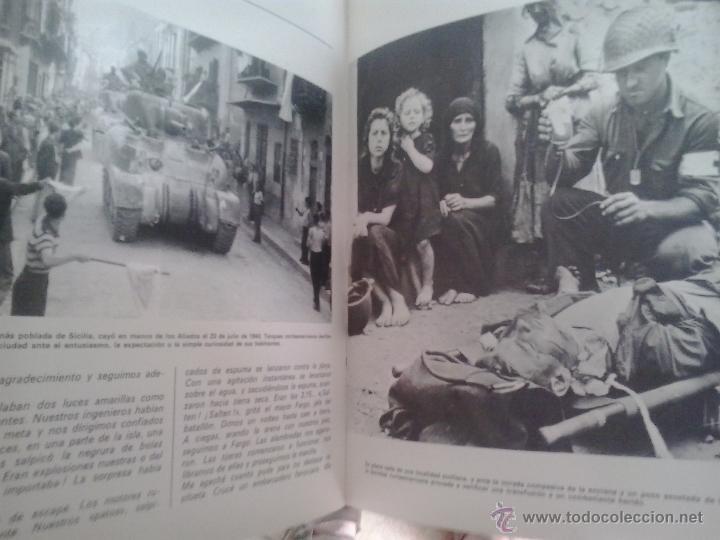 Militaria: HISTORIA DE LA II GUERRA MUNDIAL -EDITORIAL MARIN-1969 - Foto 3 - 49236526