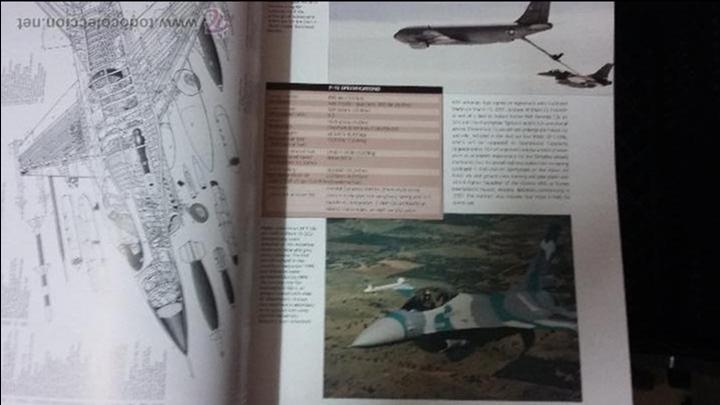 Militaria: The AirForces Book of the F-16 Fighting Falcon - Foto 3 - 49304926