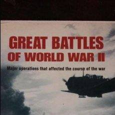 Militaria: GREAT BATTLES OF WORLD WAR II. Lote 49379013