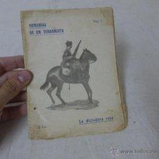 Militaria: LIBRITO MEMORIAS DE UN TERRORISTA, NUM 7, CNT, LA DICTADURA ROJA.. Lote 49565449