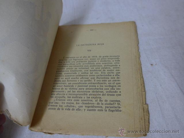 Militaria: Librito memorias de un terrorista, num 7, CNT, la dictadura roja. - Foto 3 - 49565449