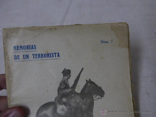 Militaria: Librito memorias de un terrorista, num 7, CNT, la dictadura roja. - Foto 4 - 49565449