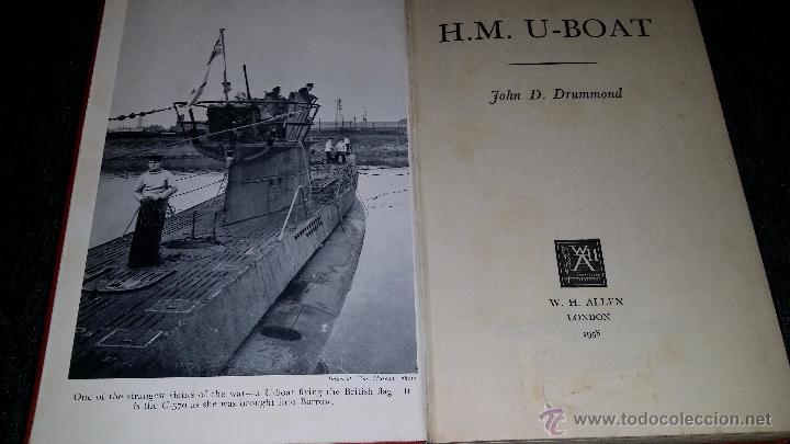 MH.U-BOAT,LIBRO DE SUBMARINOS DE LA SEGUNDA GUERRA MUNDIAL (Militar - Libros y Literatura Militar)