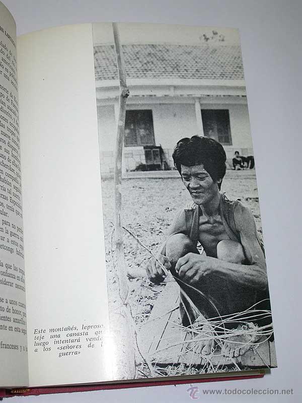 Militaria: VIETNAM. UN MILLÓN $ POR GUERRILLERO. Jean Lartéguy. Esdiven, 1969. FOTOS DE ALAIN TAIET - Foto 3 - 49924480
