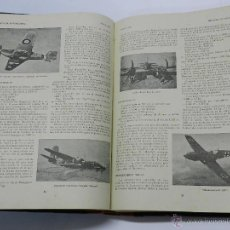Militaria: TOMO DE LA REVISTA AERONAUTICA (I SEMESTRE 1943), AVIACION, ORGANO OFICIAL DEL EJÉRCITO DEL AIRE. NÚ. Lote 49972565