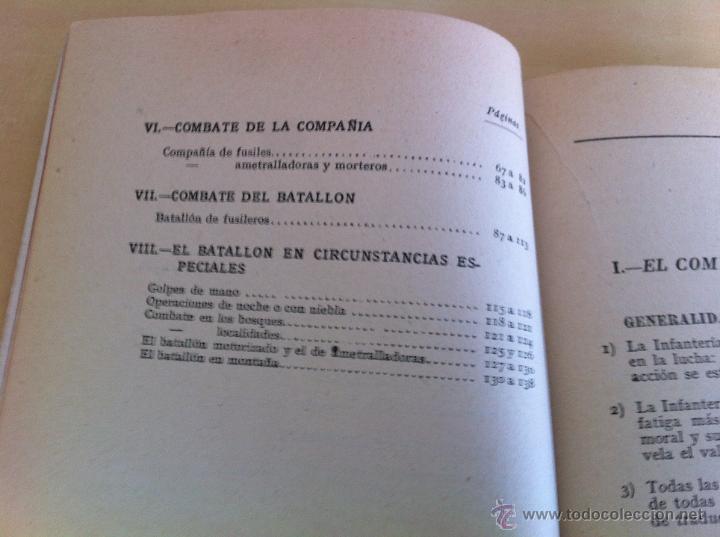 Militaria: LOTE DE DOCUMENTACIÓN MILITAR Y DEL EJERCITO. MANUAL DE SARGENTO, ARTILLERÍA, INFANTERÍA.36 UNIDADES - Foto 49 - 50032540