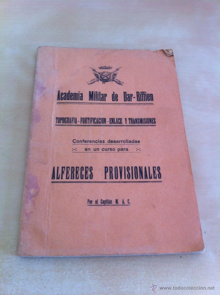 Militaria: LOTE DE DOCUMENTACIÓN MILITAR Y DEL EJERCITO. MANUAL DE SARGENTO, ARTILLERÍA, INFANTERÍA.36 UNIDADES - Foto 51 - 50032540