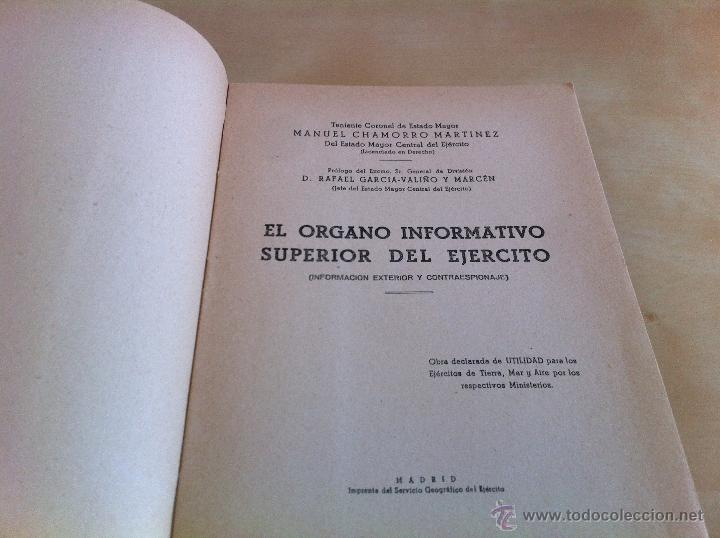 Militaria: LOTE DE DOCUMENTACIÓN MILITAR Y DEL EJERCITO. MANUAL DE SARGENTO, ARTILLERÍA, INFANTERÍA.36 UNIDADES - Foto 54 - 50032540