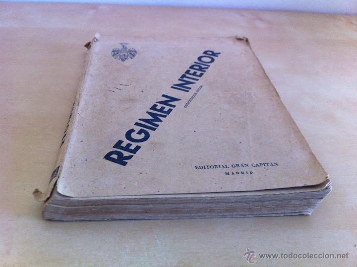 Militaria: LOTE DE DOCUMENTACIÓN MILITAR Y DEL EJERCITO. MANUAL DE SARGENTO, ARTILLERÍA, INFANTERÍA.36 UNIDADES - Foto 60 - 50032540