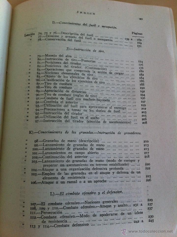 Militaria: LOTE DE DOCUMENTACIÓN MILITAR Y DEL EJERCITO. MANUAL DE SARGENTO, ARTILLERÍA, INFANTERÍA.36 UNIDADES - Foto 73 - 50032540