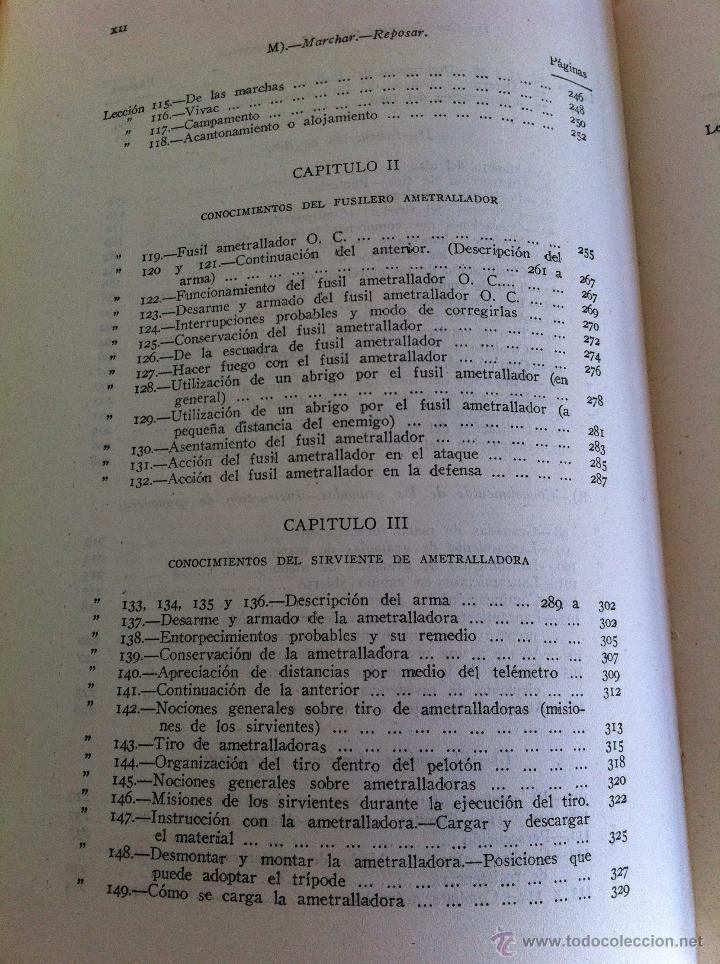 Militaria: LOTE DE DOCUMENTACIÓN MILITAR Y DEL EJERCITO. MANUAL DE SARGENTO, ARTILLERÍA, INFANTERÍA.36 UNIDADES - Foto 74 - 50032540