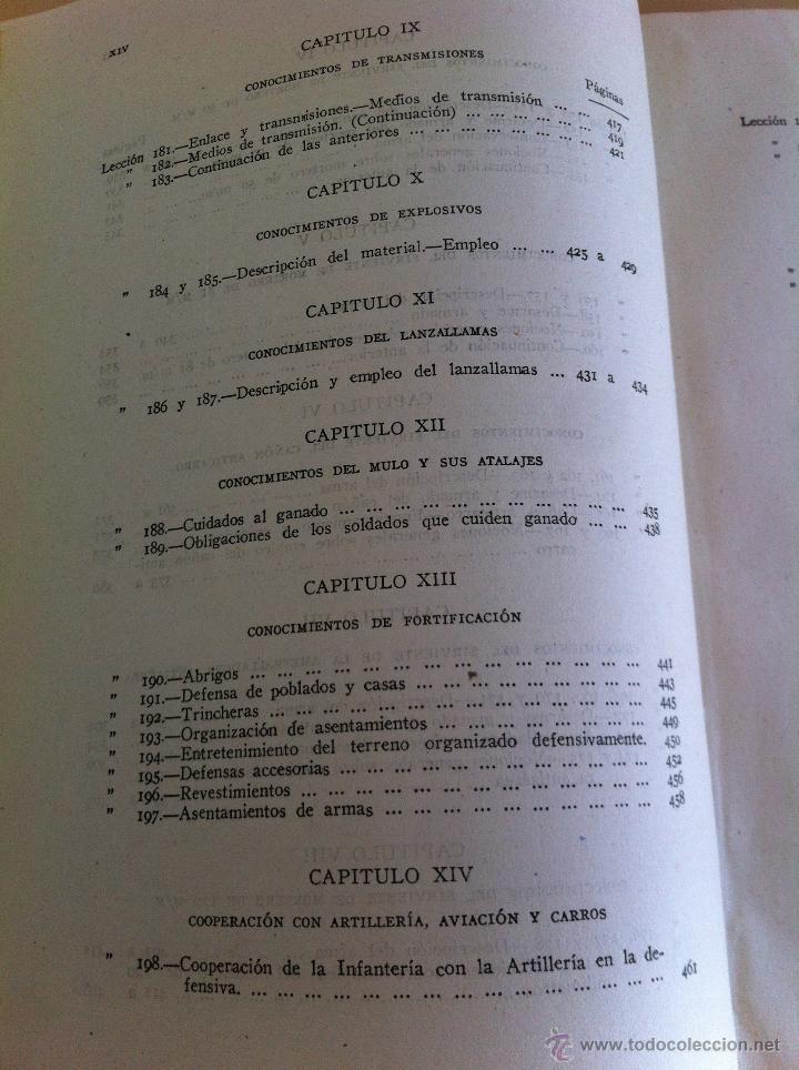 Militaria: LOTE DE DOCUMENTACIÓN MILITAR Y DEL EJERCITO. MANUAL DE SARGENTO, ARTILLERÍA, INFANTERÍA.36 UNIDADES - Foto 76 - 50032540