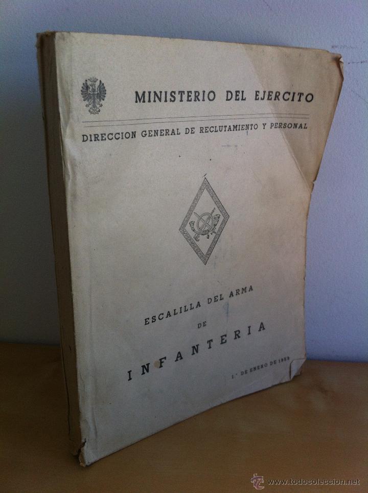 Militaria: LOTE DE DOCUMENTACIÓN MILITAR Y DEL EJERCITO. MANUAL DE SARGENTO, ARTILLERÍA, INFANTERÍA.36 UNIDADES - Foto 110 - 50032540