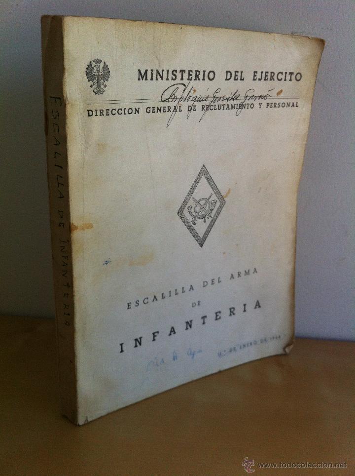 Militaria: LOTE DE DOCUMENTACIÓN MILITAR Y DEL EJERCITO. MANUAL DE SARGENTO, ARTILLERÍA, INFANTERÍA.36 UNIDADES - Foto 115 - 50032540
