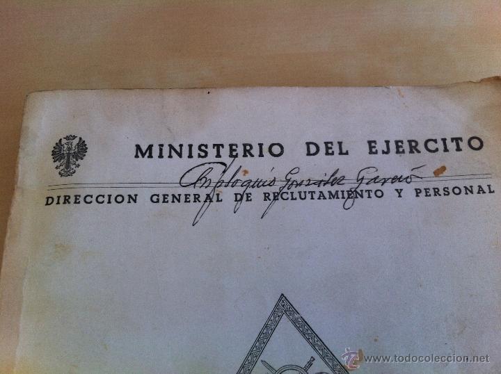Militaria: LOTE DE DOCUMENTACIÓN MILITAR Y DEL EJERCITO. MANUAL DE SARGENTO, ARTILLERÍA, INFANTERÍA.36 UNIDADES - Foto 118 - 50032540