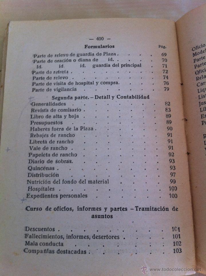 Militaria: LOTE DE DOCUMENTACIÓN MILITAR Y DEL EJERCITO. MANUAL DE SARGENTO, ARTILLERÍA, INFANTERÍA.36 UNIDADES - Foto 127 - 50032540