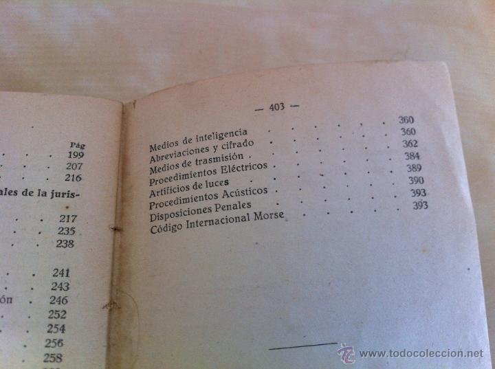 Militaria: LOTE DE DOCUMENTACIÓN MILITAR Y DEL EJERCITO. MANUAL DE SARGENTO, ARTILLERÍA, INFANTERÍA.36 UNIDADES - Foto 130 - 50032540