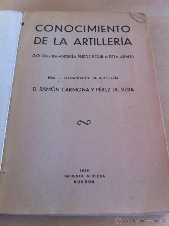 Militaria: LOTE DE DOCUMENTACIÓN MILITAR Y DEL EJERCITO. MANUAL DE SARGENTO, ARTILLERÍA, INFANTERÍA.36 UNIDADES - Foto 147 - 50032540