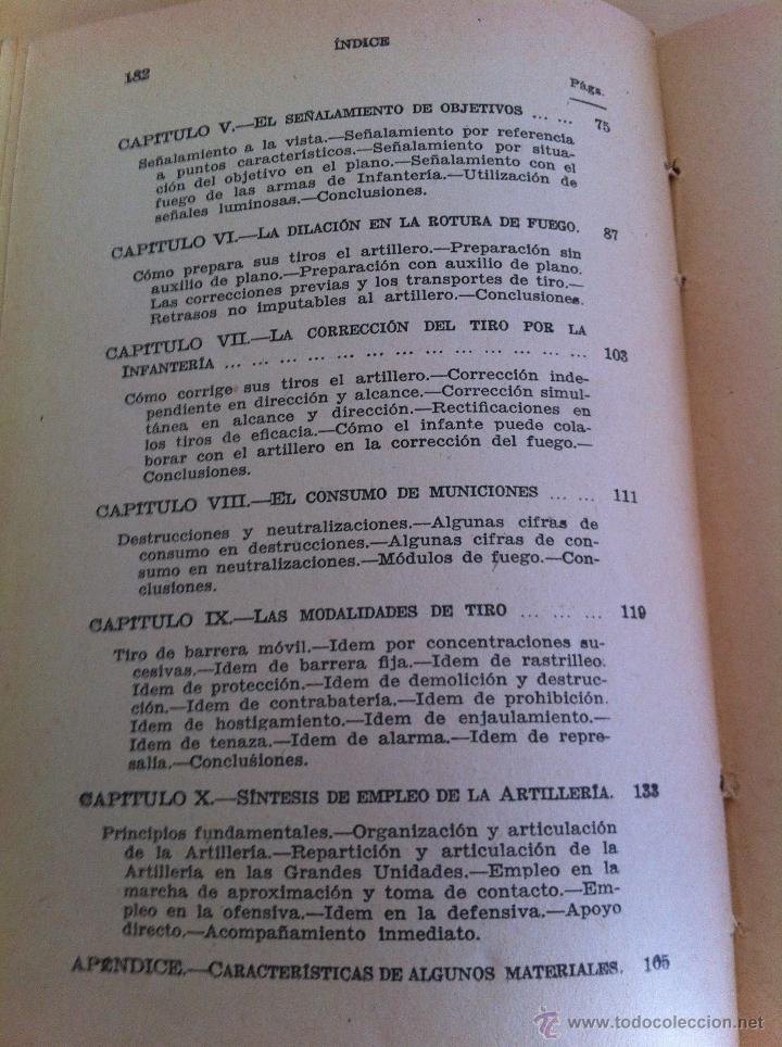 Militaria: LOTE DE DOCUMENTACIÓN MILITAR Y DEL EJERCITO. MANUAL DE SARGENTO, ARTILLERÍA, INFANTERÍA.36 UNIDADES - Foto 151 - 50032540