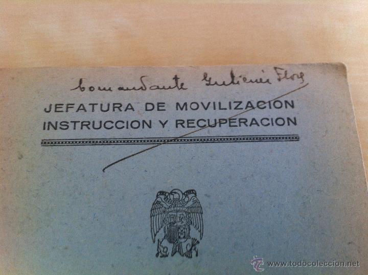 Militaria: LOTE DE DOCUMENTACIÓN MILITAR Y DEL EJERCITO. MANUAL DE SARGENTO, ARTILLERÍA, INFANTERÍA.36 UNIDADES - Foto 160 - 50032540