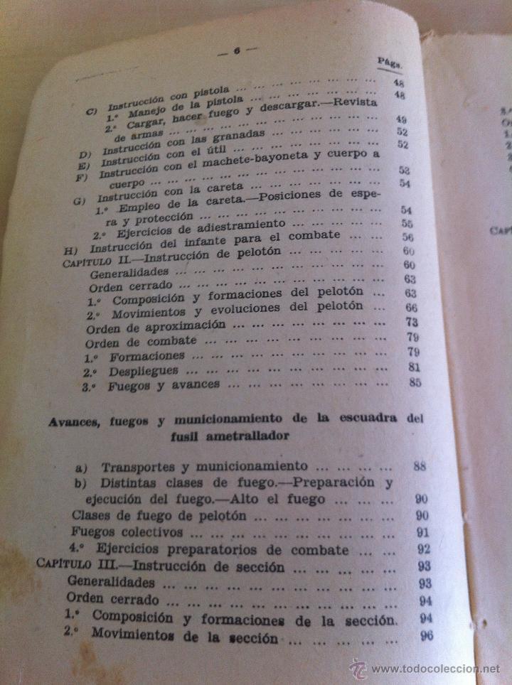 Militaria: LOTE DE DOCUMENTACIÓN MILITAR Y DEL EJERCITO. MANUAL DE SARGENTO, ARTILLERÍA, INFANTERÍA.36 UNIDADES - Foto 171 - 50032540