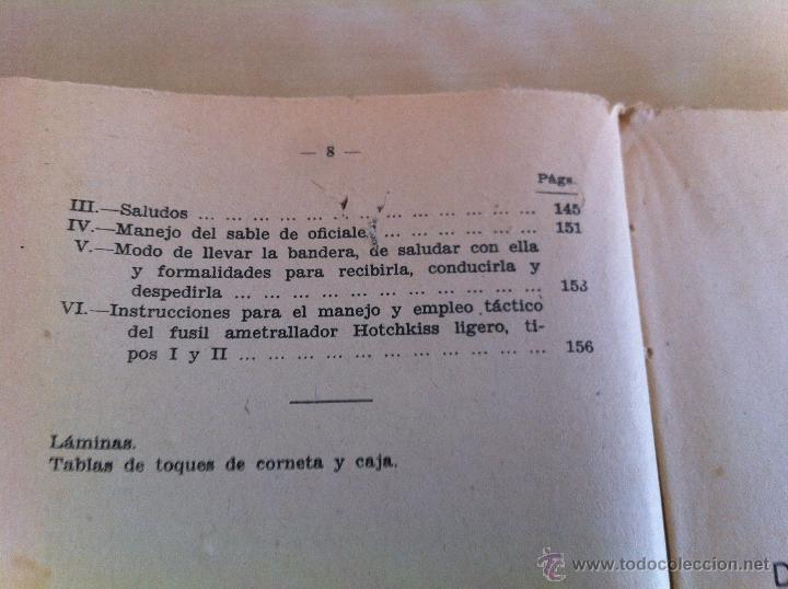 Militaria: LOTE DE DOCUMENTACIÓN MILITAR Y DEL EJERCITO. MANUAL DE SARGENTO, ARTILLERÍA, INFANTERÍA.36 UNIDADES - Foto 173 - 50032540