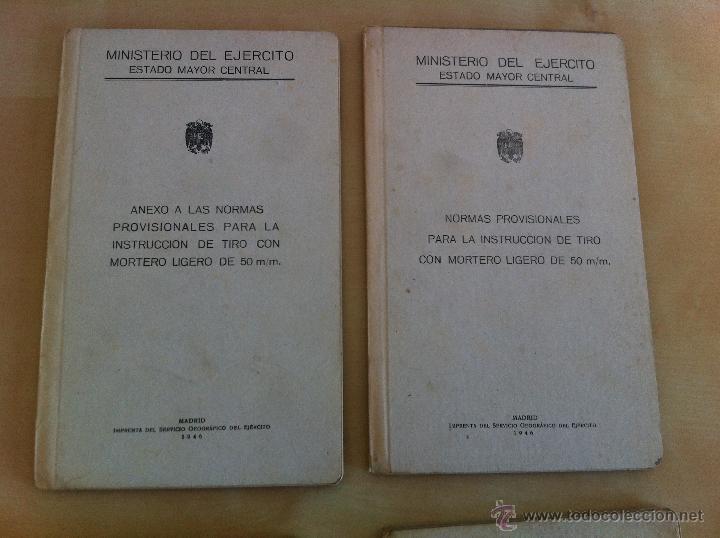 Militaria: LOTE DE DOCUMENTACIÓN MILITAR Y DEL EJERCITO. MANUAL DE SARGENTO, ARTILLERÍA, INFANTERÍA.36 UNIDADES - Foto 179 - 50032540