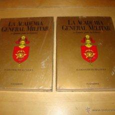 Militaria: LA ACADEMIA GENERAL MILITAR - APUNTES PARA SU HISTORIA - . Lote 50077383