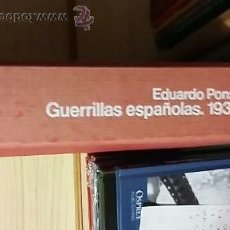 Militaria - Eduardo Pons Prades: Guerrillas españolas 1936-1960 - 50372232