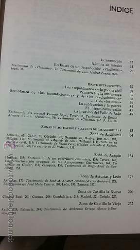 Militaria: Eduardo Pons Prades: Guerrillas españolas 1936-1960 - Foto 3 - 50372232