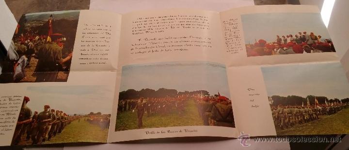 Militaria: REQUETES EN Montejurra,Programa TRIPTICO DE 1962 - Foto 2 - 50734156