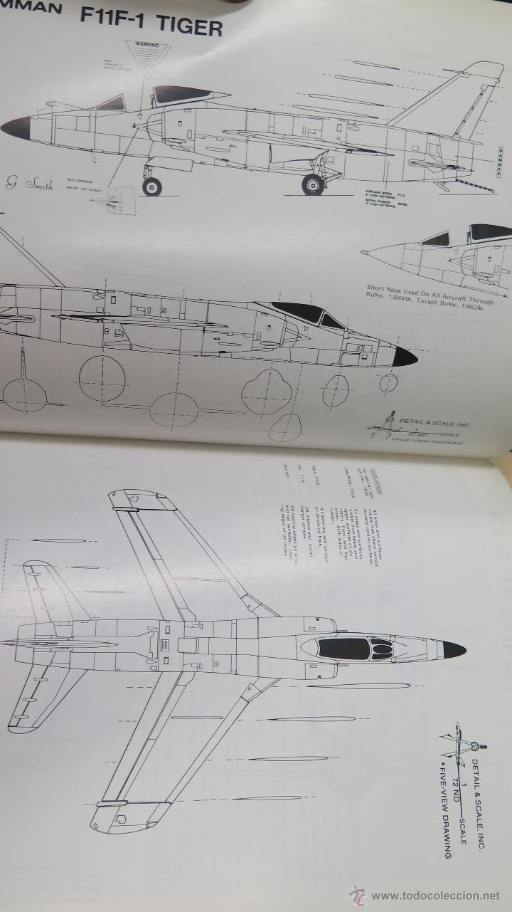 Militaria: F11F TIGER. IN DETAIL & SCALE. BERT KINZEY. PROFUSAMENTE ILUSTRADO - Foto 2 - 50756780