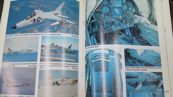 Militaria: F11F TIGER. IN DETAIL & SCALE. BERT KINZEY. PROFUSAMENTE ILUSTRADO - Foto 5 - 50756780