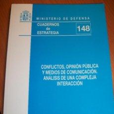 Militaria: CONFLICTOS, OPINIÓN PÚBLICA Y MEDIOS DE COMUNICACIÓN. ANÁLISIS DE UNA COMPLEJA INTERACCIÓN. ÍNDICE. Lote 50926355