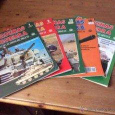Militaria: 5 FASCÍCULOS: MAQUINAS DE GUERRA NºS 1, 2, 13, 15, 19. BLINDADOS Y HELICÓPTEROS. Lote 50977368