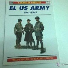 Militaria: CARROS DE COMBATE Nº 7, EDICIONES OSPREY. US ARMY. Lote 50977642