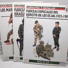 Militaria: LOTE 27 LIBROS EJERCITOS Y BATALLAS -OSPREY Nº 1 A 18-22 A 27-42-54-62. Lote 51076857