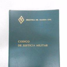 Militaria: BIBLIOTECA DEL GUARDIA CIVIL. CÓDIGO DE JUSTICIA MILITAR, 1981. MADRID. TDK252. Lote 51047650