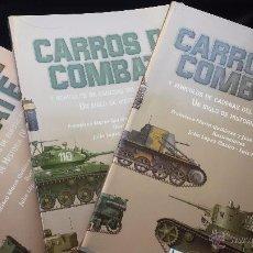 Militaria: MILITAR LIBRO CARROS DE COMBATE UN SIGLO DE HISTORIA 3 VOLÚMENES COMPLETO 750 PAGS LUJO NUEVO. Lote 110555466