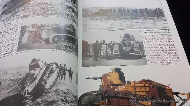 Militaria: Militar libro carros de combate un siglo de historia 3 volúmenes completo 750 pags lujo nuevo - Foto 3 - 110555466