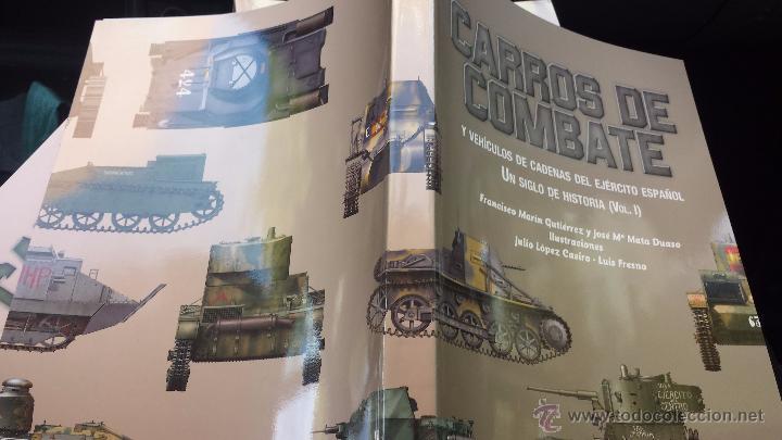 Militaria: Militar libro carros de combate un siglo de historia 3 volúmenes completo 750 pags lujo nuevo - Foto 5 - 110555466