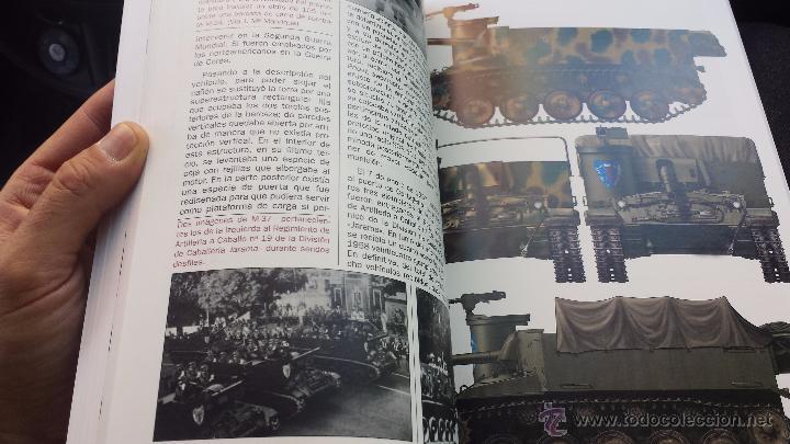Militaria: Militar libro carros de combate un siglo de historia 3 volúmenes completo 750 pags lujo nuevo - Foto 6 - 110555466