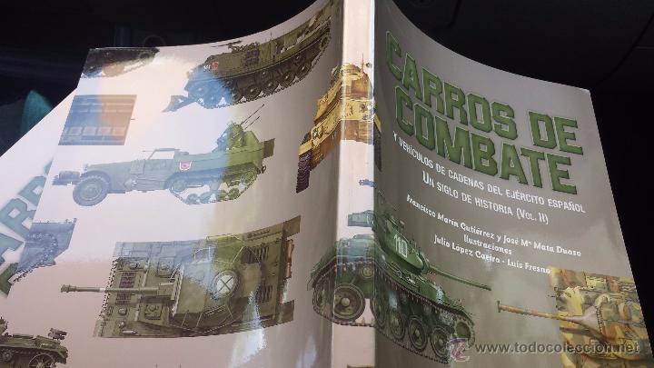 Militaria: Militar libro carros de combate un siglo de historia 3 volúmenes completo 750 pags lujo nuevo - Foto 10 - 110555466