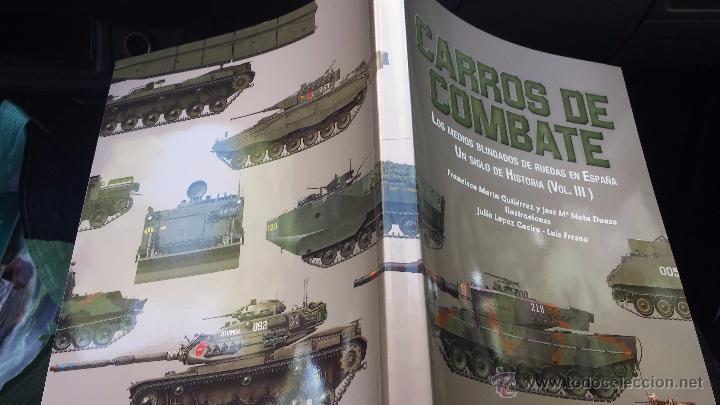 Militaria: Militar libro carros de combate un siglo de historia 3 volúmenes completo 750 pags lujo nuevo - Foto 15 - 110555466