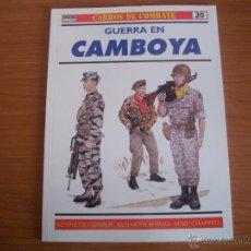 Militaria: OSPREY: CARROS DE COMBATE Nº 20: GUERRA EN CAMBOYA. Lote 51582148