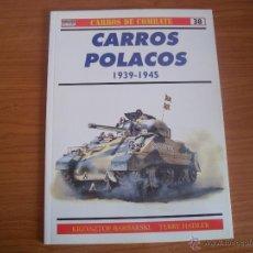 Militaria: OSPREY: CARROS DE COMBATE Nº 38: CARROS POLACOS. Lote 51582606