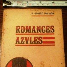 Militaria: ROMANCES AZULES. 1937. Lote 62762639