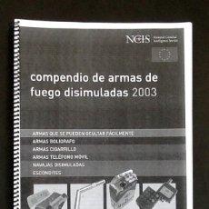 Militaria: COMPENDIO DE ARMAS DE FUEGO DISIMULADAS. - FACSÍMIL -..ENVIO CERTIFICADO INCLUIDO EN EL PRECIO.. Lote 51785044