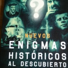 Militaria: NUEVOS ENIGMAS HISTORICOS AL DESCUBIERTO. Lote 52011439