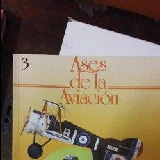 Militaria: ASES DE LA AVIACION. VOLUMEN 3. ED. DELTA. Lote 52040785